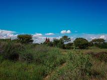 Bagan, Myanmar imagenes de archivo