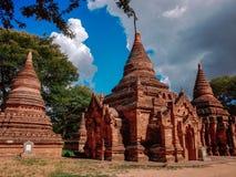 bagan myanmar royaltyfri bild