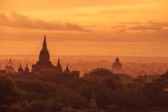 Bagan, Myanmar Imagens de Stock Royalty Free