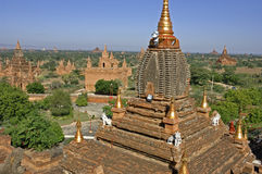 Bagan at Myanmar. The historical site of Bagan at Myanmar Royalty Free Stock Images
