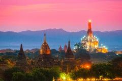 Bagan, Myanmar. zdjęcia royalty free
