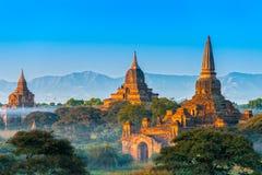 Bagan, Myanmar. Obrazy Stock