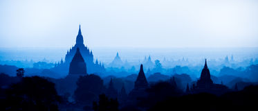 Bagan Myanmar Fotografie Stock Libere da Diritti