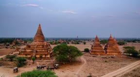 Bagan, Myanmar stockfotografie