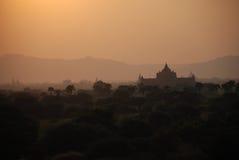bagan myanmar Arkivbilder