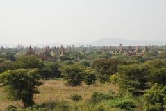 bagan myanmar Стоковые Изображения RF