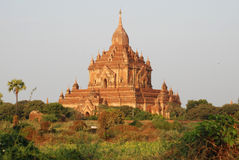 Bagan Myanmar. Temple à Bagan au Myanmar (Birmanie Royalty Free Stock Photography