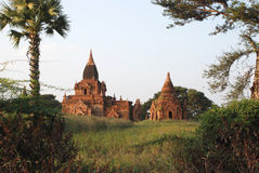 Bagan Myanmar Foto de Stock Royalty Free
