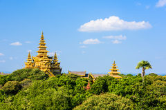 Bagan Myanmar Archeological Zone Royalty Free Stock Photography