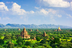 Bagan Myanmar Archeological Zone Stock Image