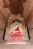 Bagan, Myanmar, Buddha in temple Stock Images