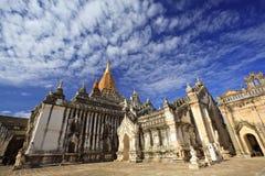 bagan myanmar för ananda tempel Fotografering för Bildbyråer