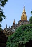 bagan myanmar för ananda tempel Royaltyfri Fotografi