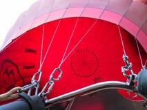 Bagan, Myanmar - Januari 26, 2015: De ballons over Bagan, verblijven zijn Stock Afbeelding