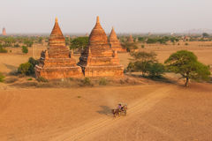 Bagan, Myanmar, Pagoda Stock Photos