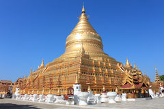 bagan Myanmar pagody shwezigon Obrazy Stock