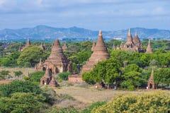 The Temples of bagan Myanmar. BAGAN , MYANMAR - SEP 04 : The Temples of bagan in Myanmar on September 04 2017 , The ruins of Bagan has 2,200 temples and pagodas Stock Photo