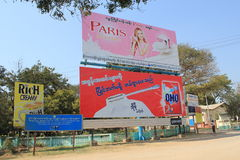 Bagan Myanmar-Straßenansicht Lizenzfreie Stockfotos