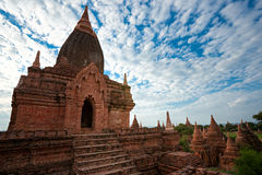 bagan myanmar tempel Royaltyfria Foton