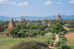 bagan myanmar tempel Royaltyfri Foto