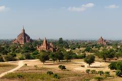 Bagan, Myanmar-Tempel in der archäologischen Zone birma Lizenzfreie Stockfotografie