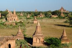 Bagan, Myanmar-Tempel in der archäologischen Zone birma Stockfotografie