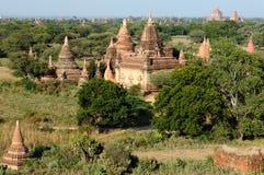 Bagan, Myanmar-Tempel in der archäologischen Zone birma Lizenzfreie Stockfotos