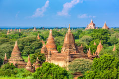 Bagan, Myanmar Temples Royalty Free Stock Photography