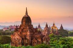 Bagan, Myanmar Temples Stock Photos