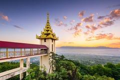 Bagan, Myanmar Temples Royalty Free Stock Photo