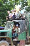 Bagan Myanmar Transportation Stock Image