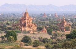 Bagan pagoda ,Myanmar Royalty Free Stock Images