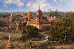 Bagan pagodas Royaltyfria Bilder