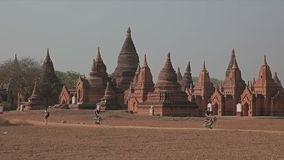 Bagan - pagodas Stock Photography