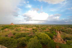 Bagan pagodas Royalty Free Stock Photography