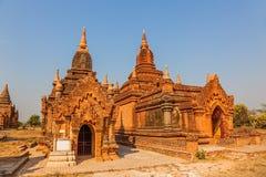 Bagan pagodas Royalty Free Stock Photo