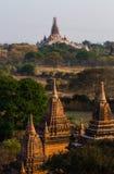 Bagan Pagoden Stockbilder