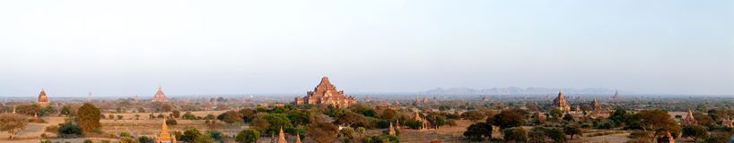 Bagan panoramic Royalty Free Stock Images