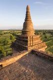 Bagan. Part of a pagoda in Bagan, Myanmar, Burma, Southeast Asia Stock Photo