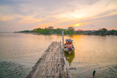 Bagan Pasir Kuala Selangor Images libres de droits