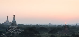 Bagan plains, Myanmar Royalty Free Stock Image