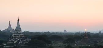 Bagan plains, Myanmar Royalty Free Stock Image