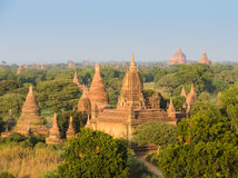 Bagan plains, Myanmar Royalty Free Stock Photography