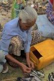 Bagan ranku rynek Zdjęcie Stock