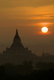BAGAN Sunrises Stock Image