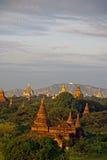 Bagan sunset2 Stock Afbeelding