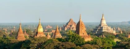 Bagan at Sunset, Myanmar. Royalty Free Stock Image
