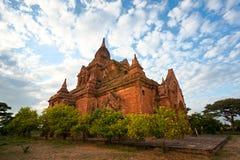 Bagan at Sunset, Myanmar. Stock Photos