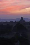 Bagan sunset Royalty Free Stock Images