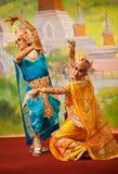 Bagan Tanz stockfotografie